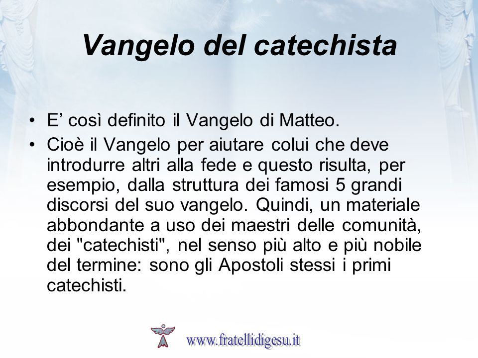 Vangelo del catechista