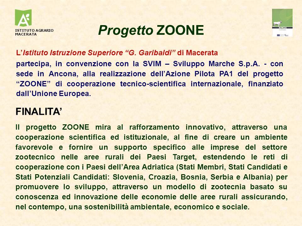 Progetto ZOONE FINALITA'