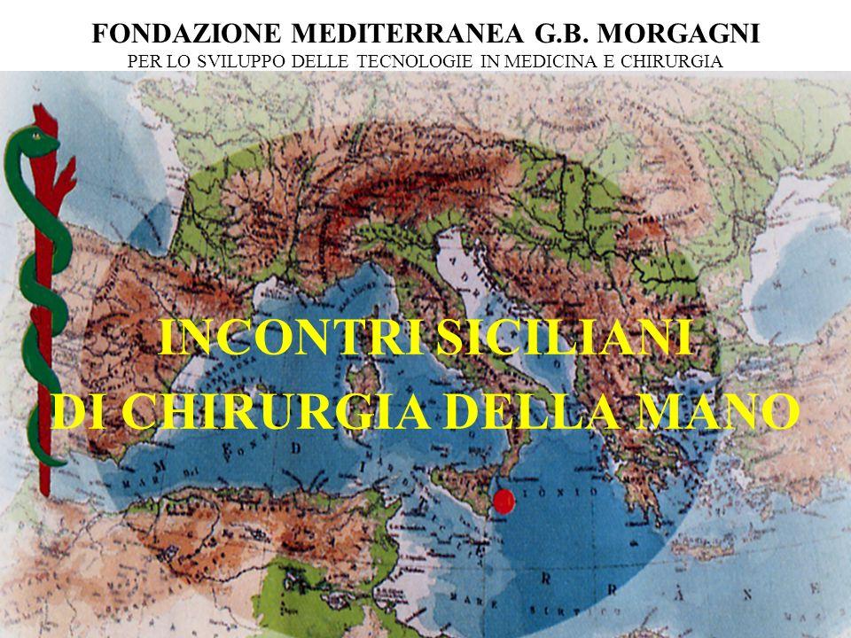 INCONTRI SICILIANI DI CHIRURGIA DELLA MANO