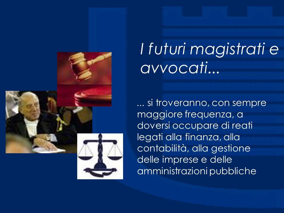 I futuri magistrati e avvocati...