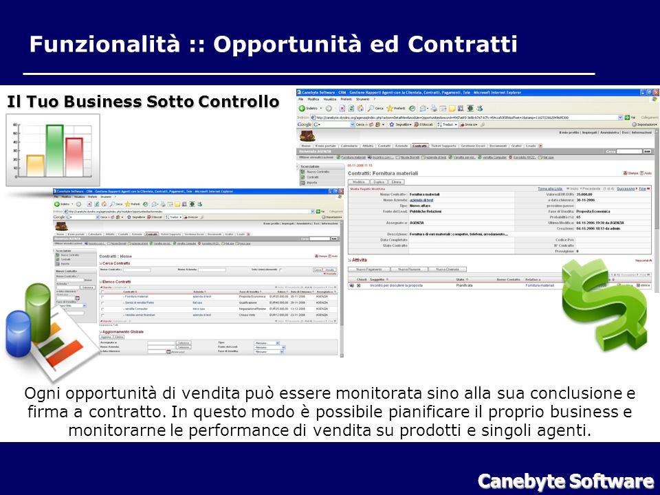 Funzionalità Contratti ed Opportunità