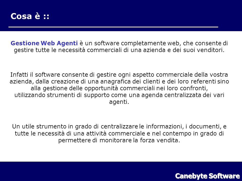 Cosa è Cosa è :: Canebyte Software