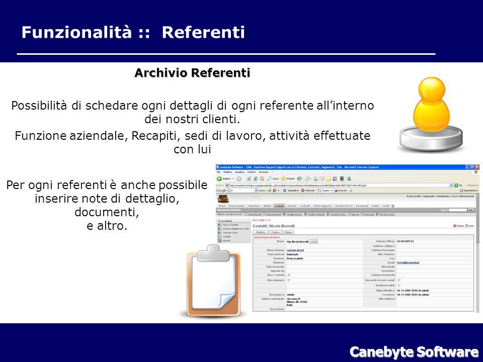 Funzionalità Referenti