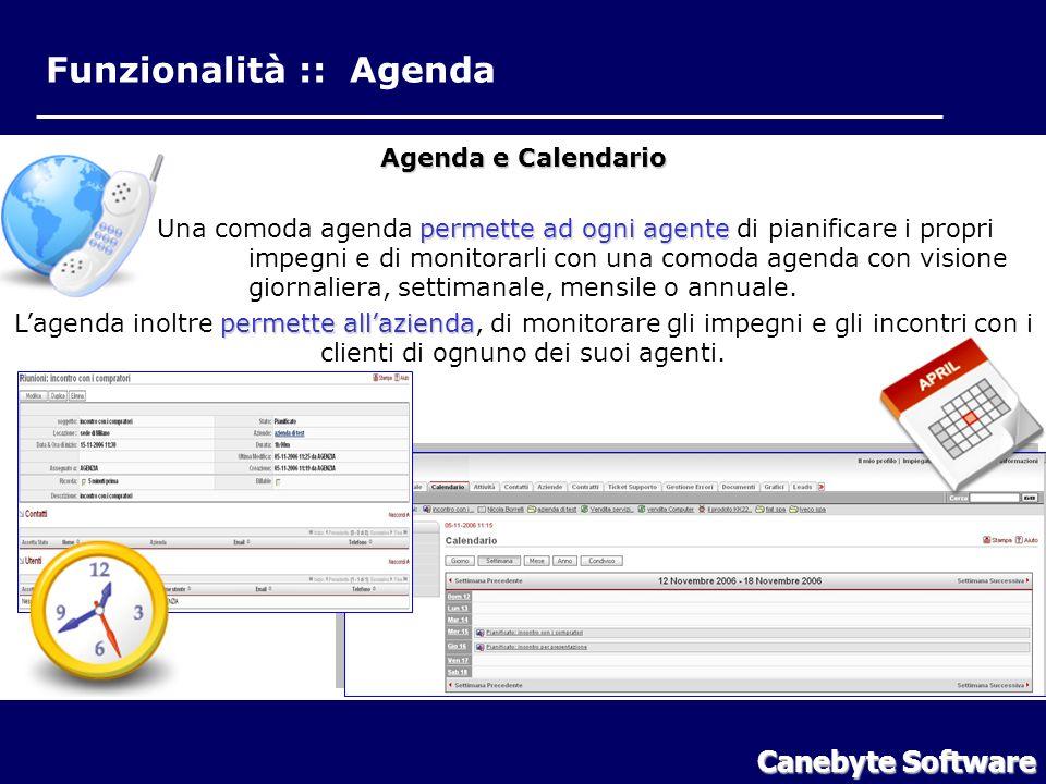 Funzionalità :: Agenda