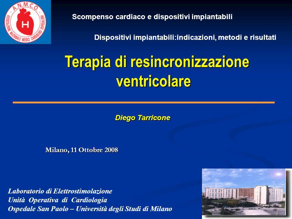 Terapia di resincronizzazione ventricolare