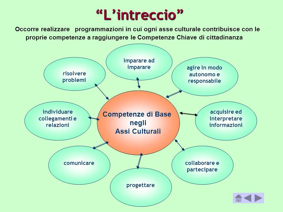 L'intreccio Competenze di Base negli Assi Culturali
