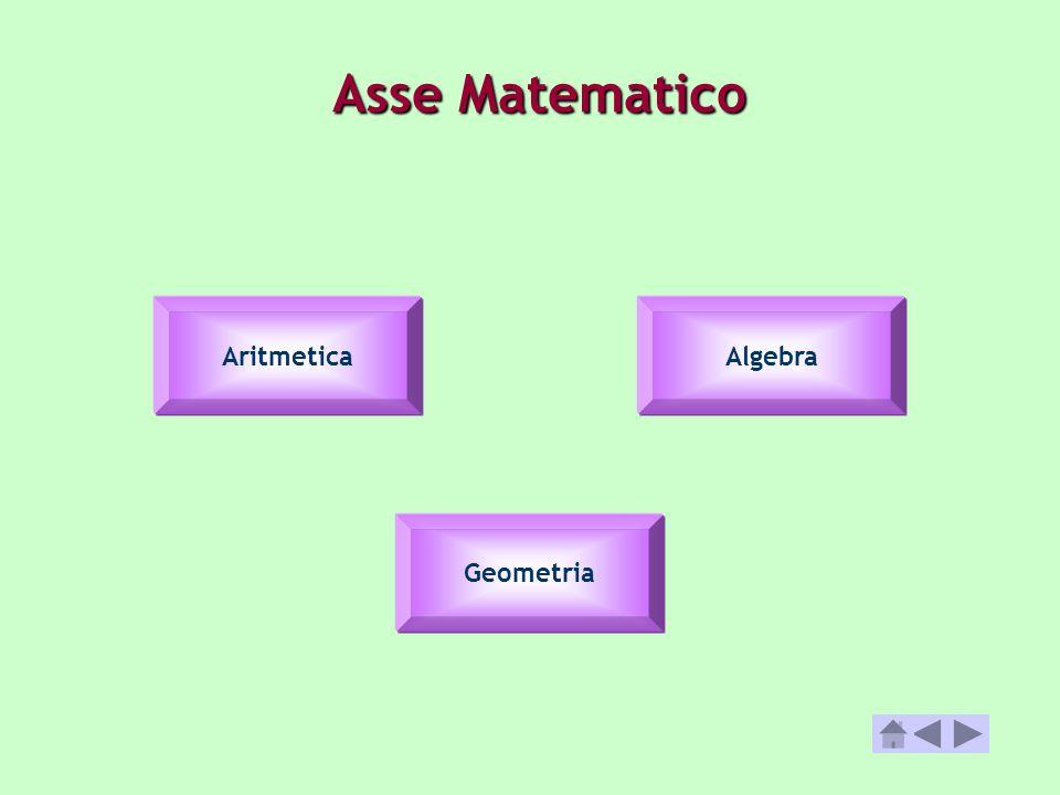 Asse Matematico Aritmetica Algebra Geometria