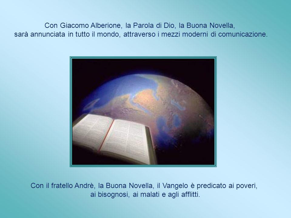 Con Giacomo Alberione, la Parola di Dio, la Buona Novella,