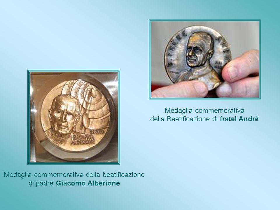 Medaglia commemorativa della Beatificazione di fratel André