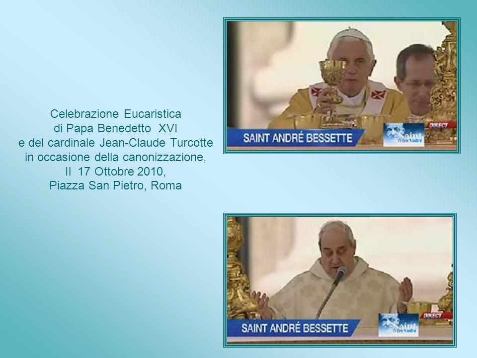Celebrazione Eucaristica di Papa Benedetto XVI