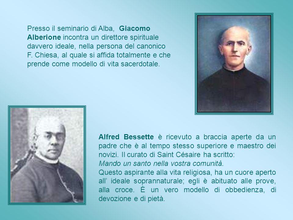 Presso il seminario di Alba, Giacomo Alberione incontra un direttore spirituale davvero ideale, nella persona del canonico