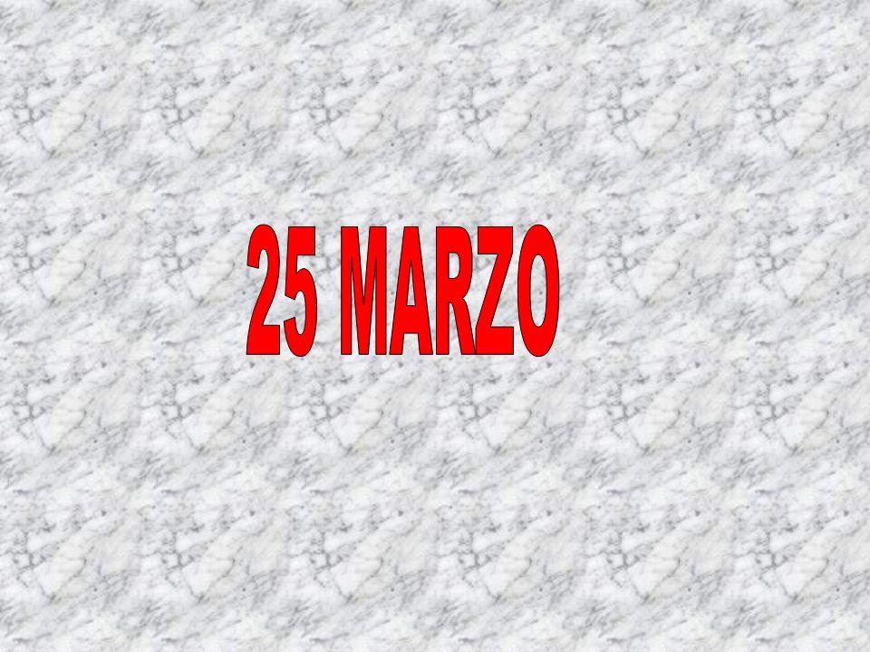 25 MARZO