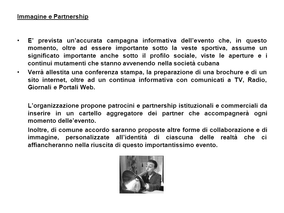 Immagine e Partnership