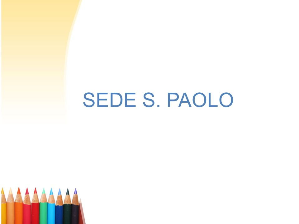 SEDE S. PAOLO