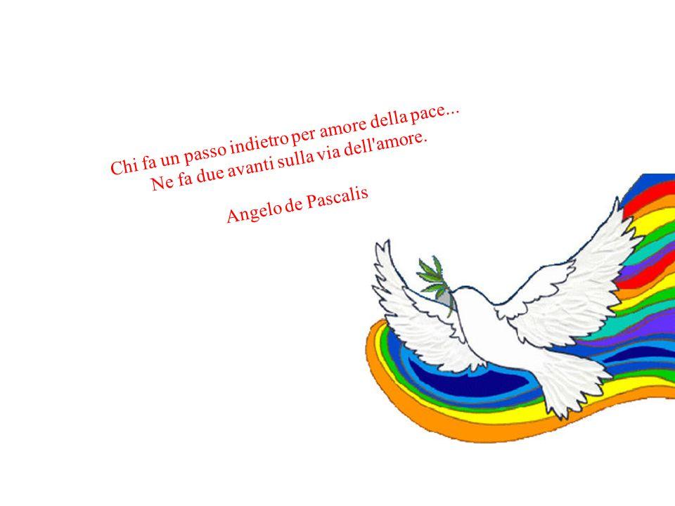 Chi fa un passo indietro per amore della pace...