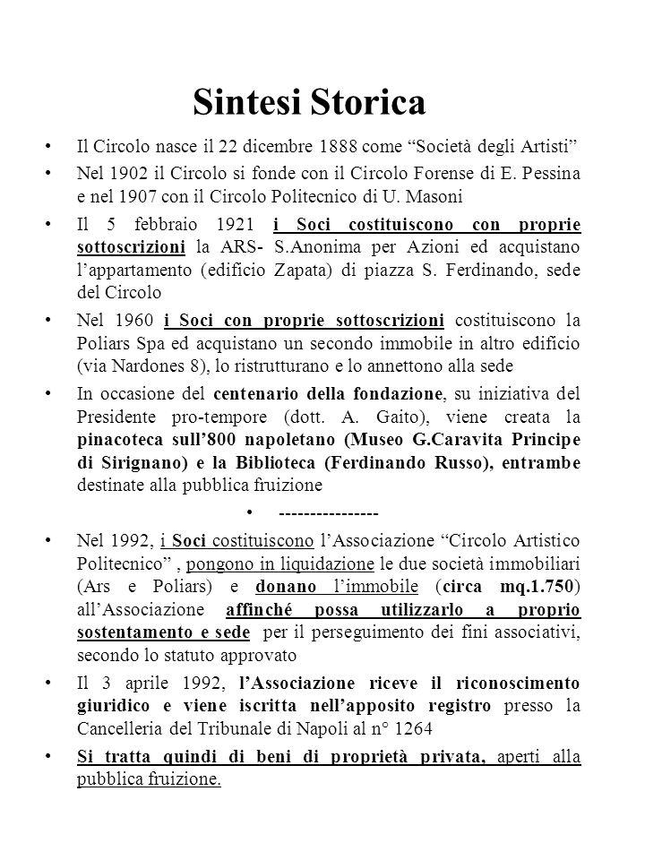 Associazione Circolo Artistico Politecnico - Napoli