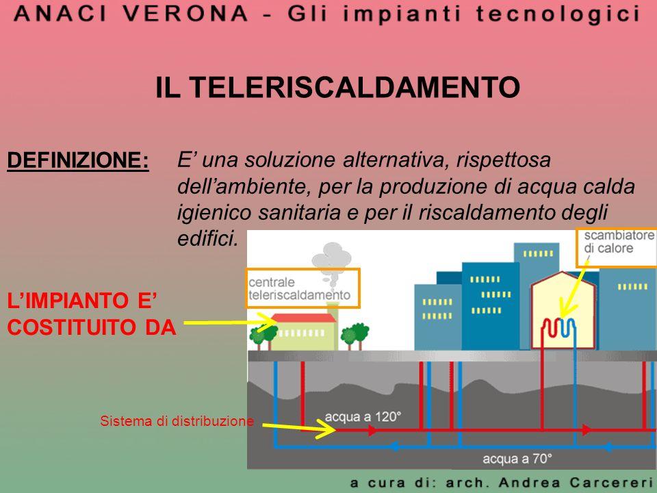 Anaci verona presenta gli impianti tecnologici ppt for Connessioni idrauliche di acqua calda sanitaria