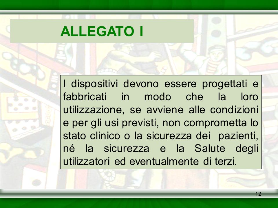 ALLEGATO I