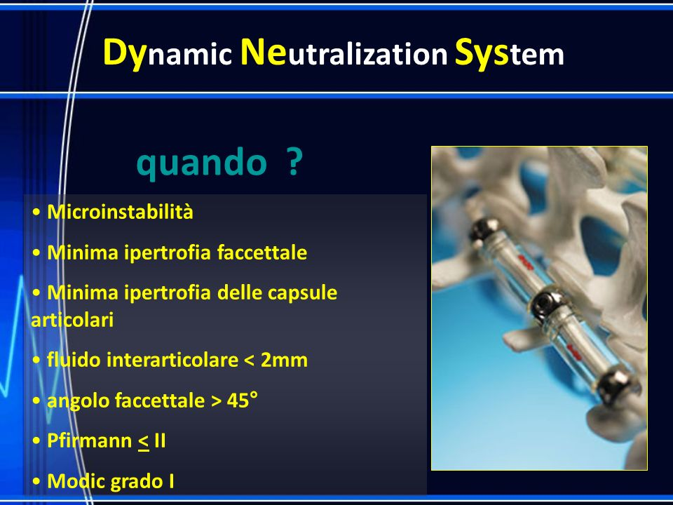 Dynamic Neutralization System