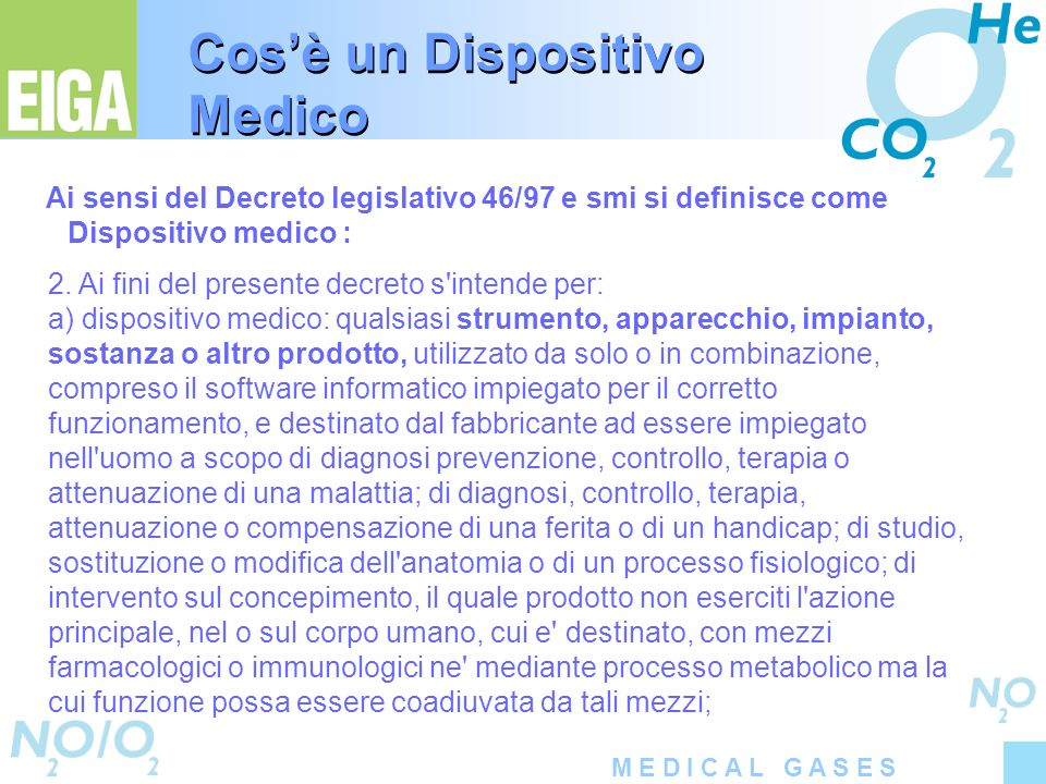 Cos'è un Dispositivo Medico