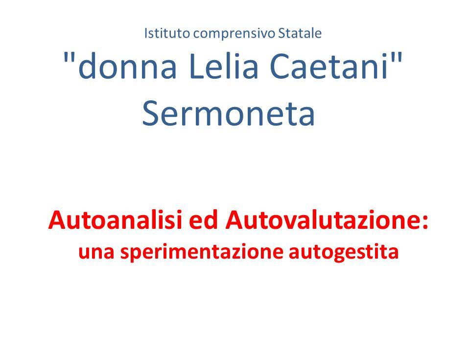 Autoanalisi ed Autovalutazione: una sperimentazione autogestita