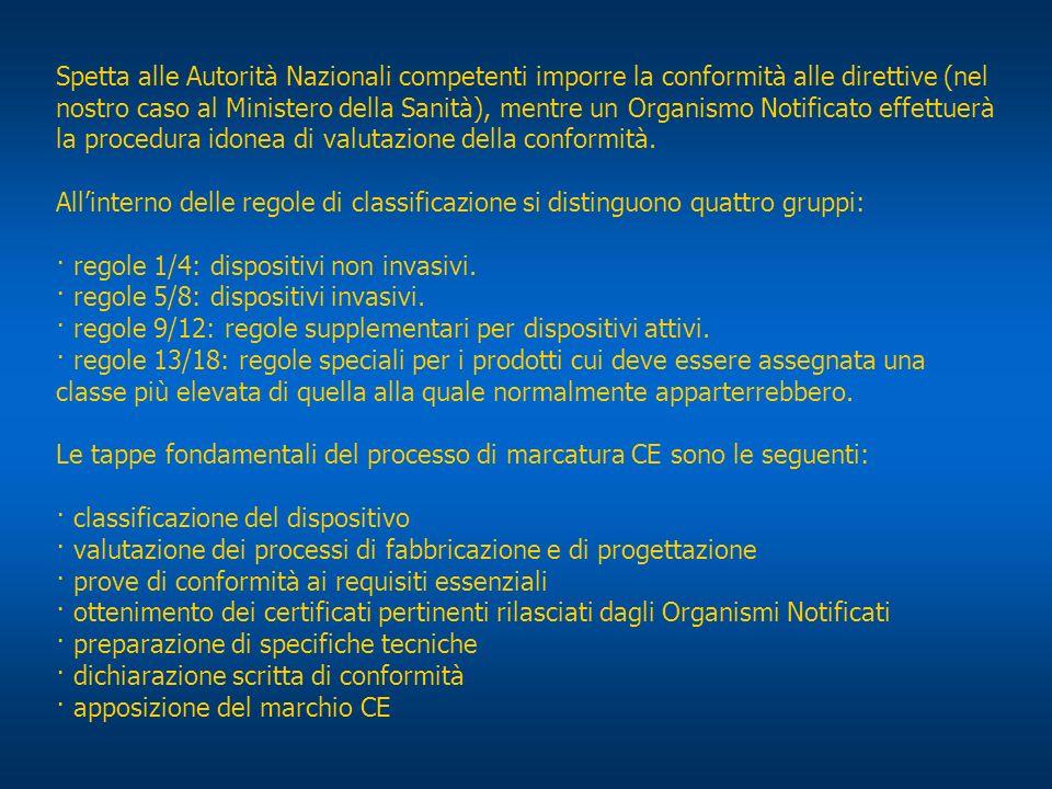 Spetta alle Autorità Nazionali competenti imporre la conformità alle direttive (nel