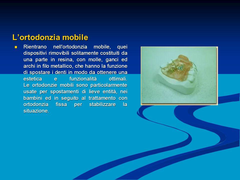 L'ortodonzia mobile