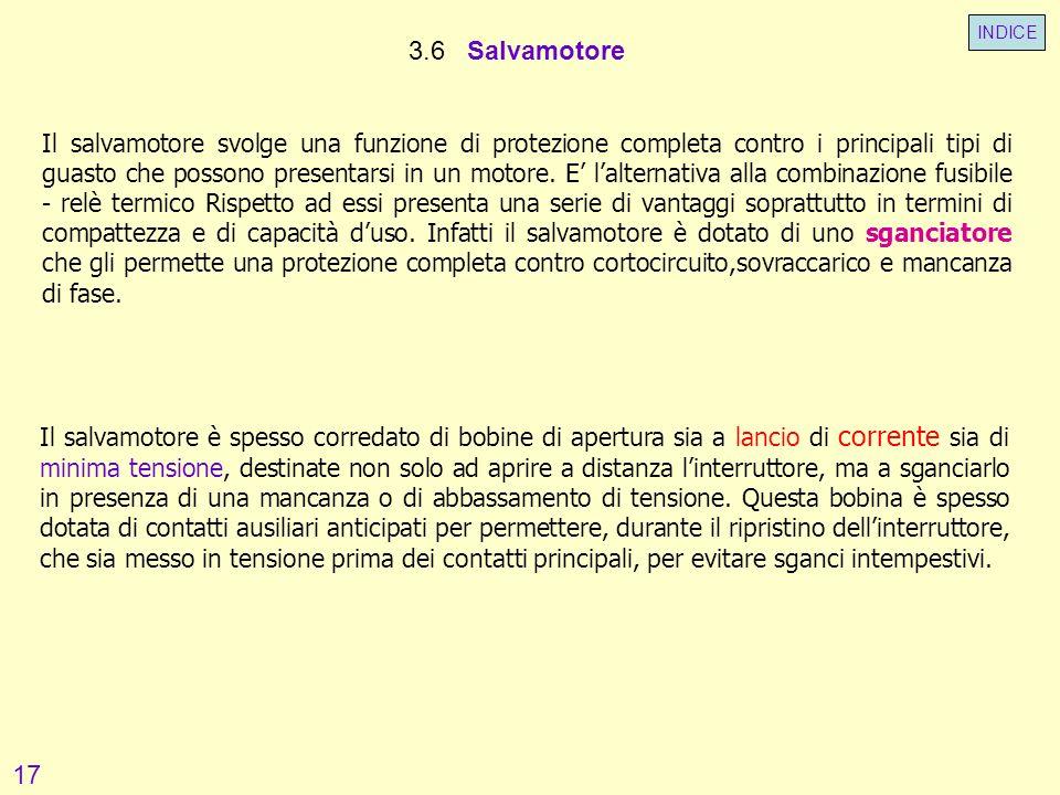 INDICE 3.6 Salvamotore.