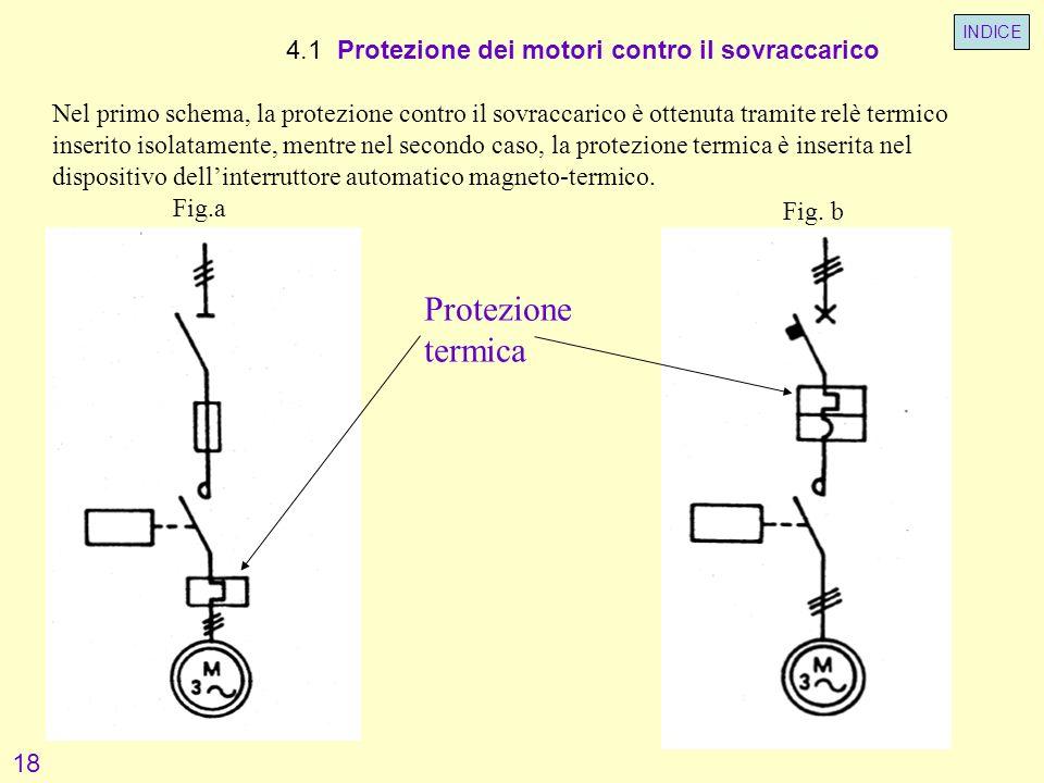 Protezione termica 4.1 Protezione dei motori contro il sovraccarico