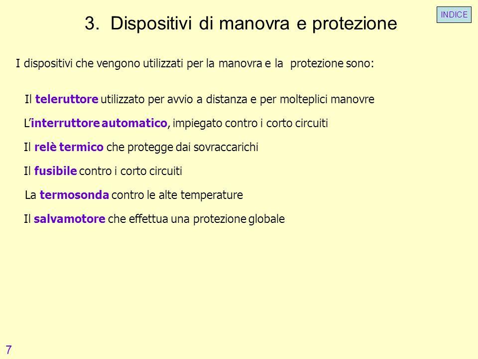 3. Dispositivi di manovra e protezione