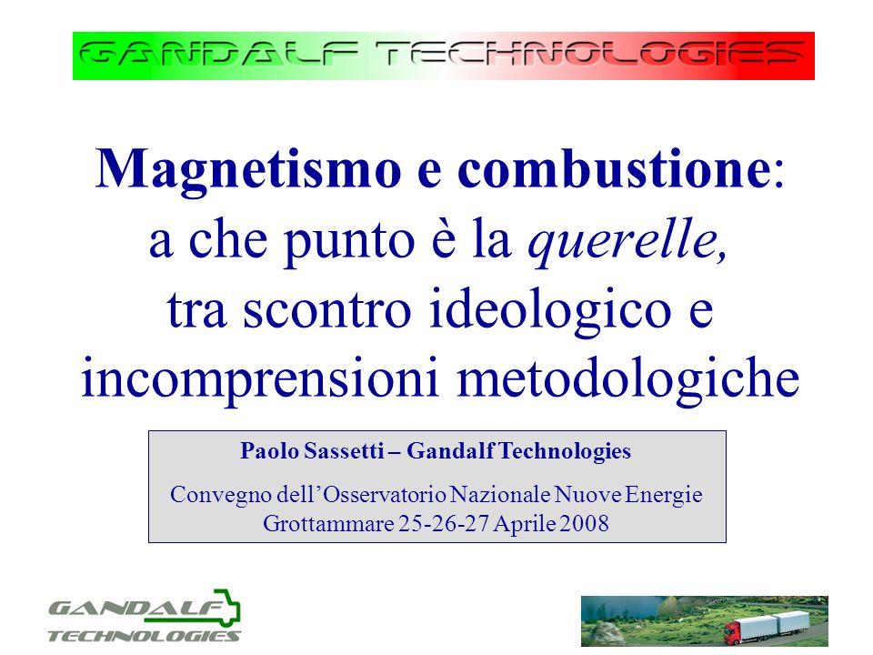 Paolo Sassetti – Gandalf Technologies