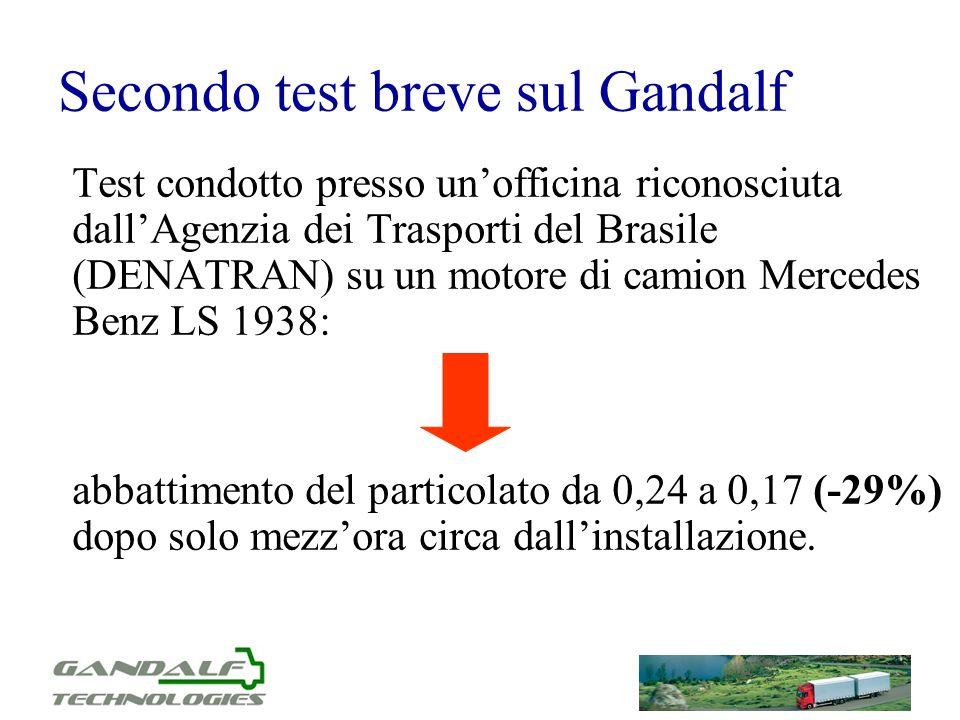 Secondo test breve sul Gandalf