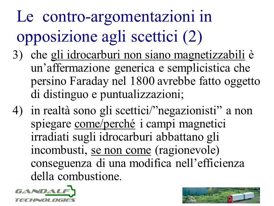 Le contro-argomentazioni in opposizione agli scettici (2)