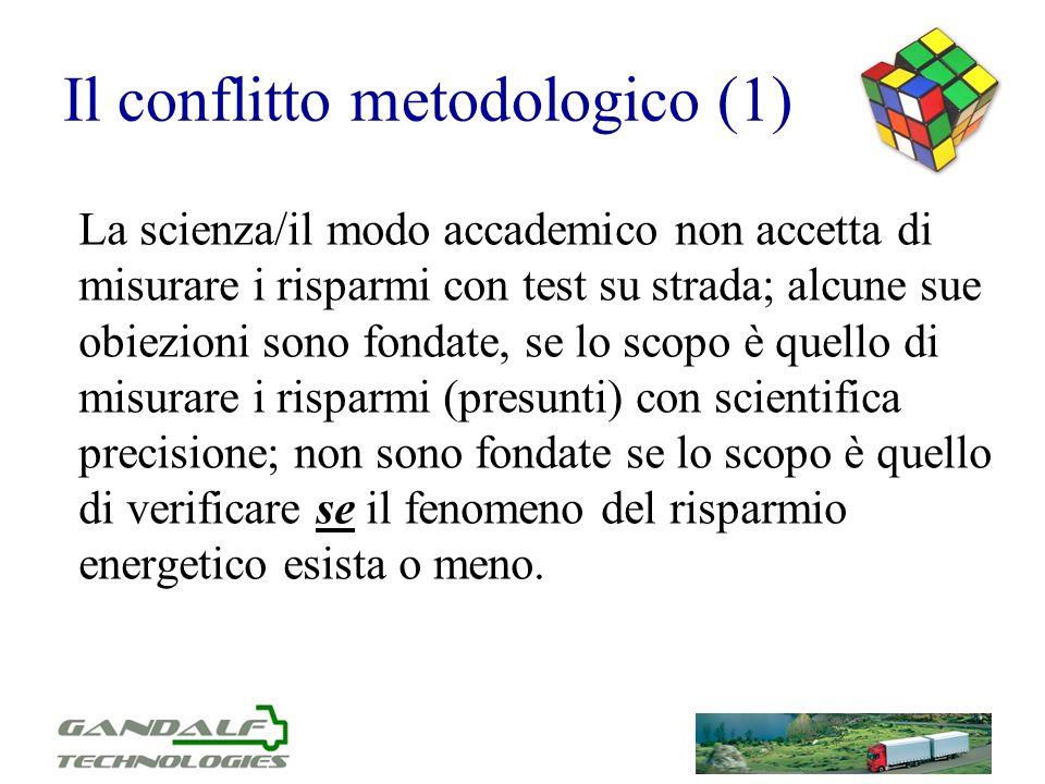 Il conflitto metodologico (1)