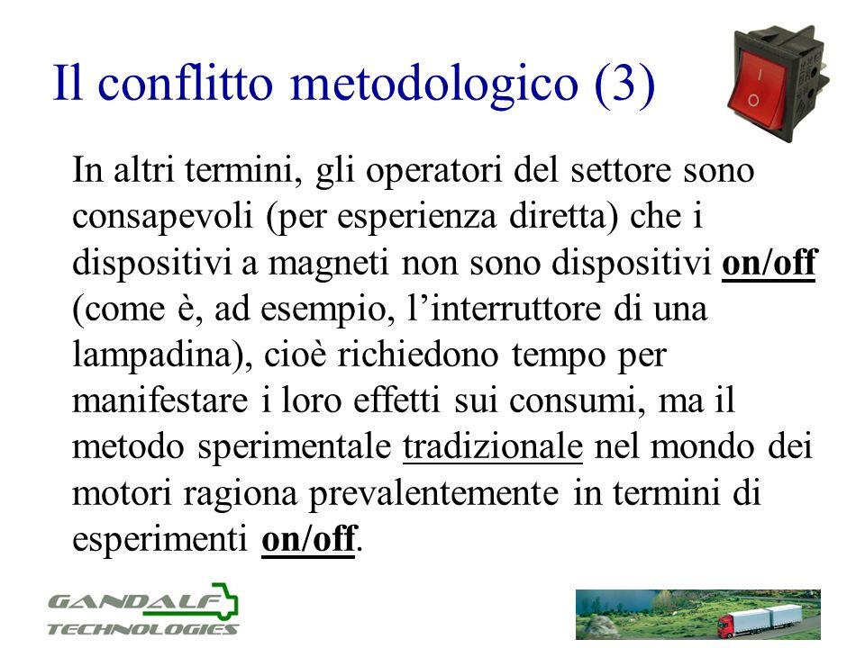 Il conflitto metodologico (3)