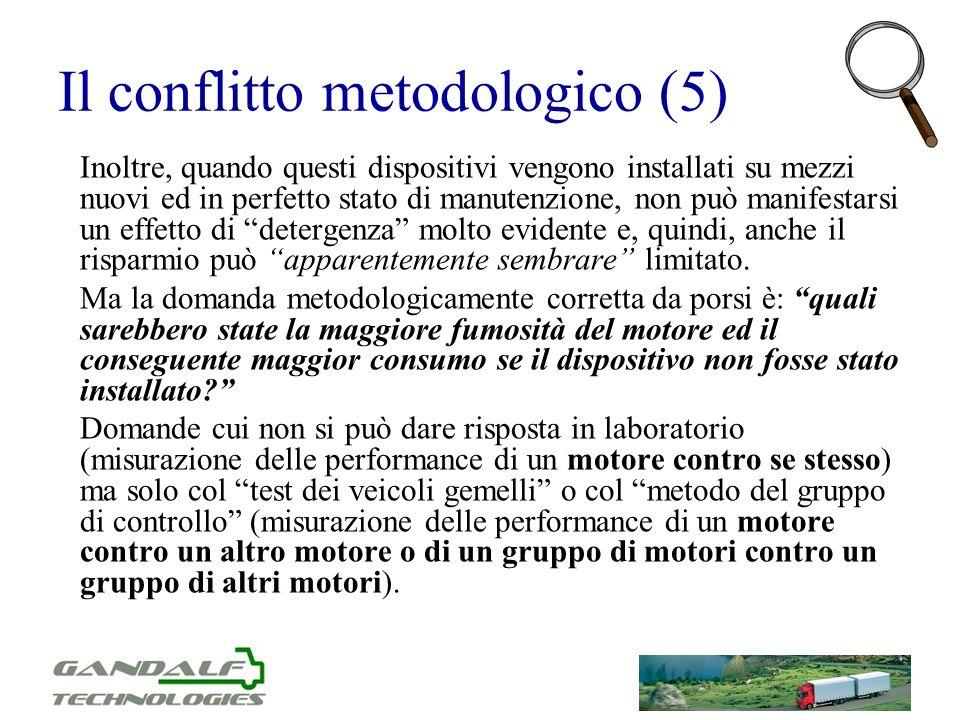 Il conflitto metodologico (5)