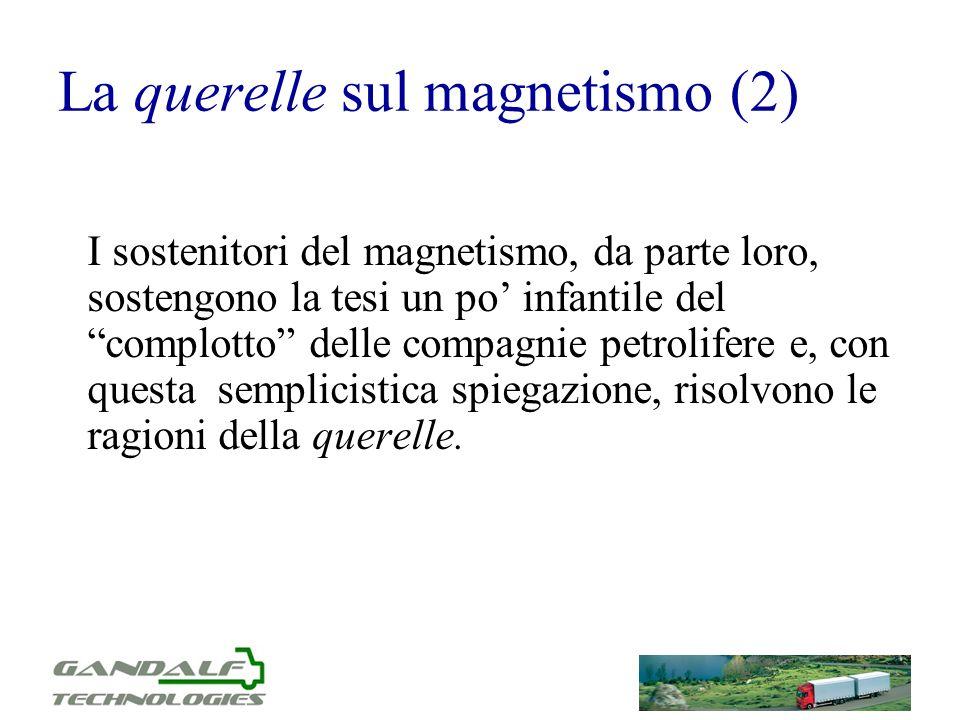 La querelle sul magnetismo (2)