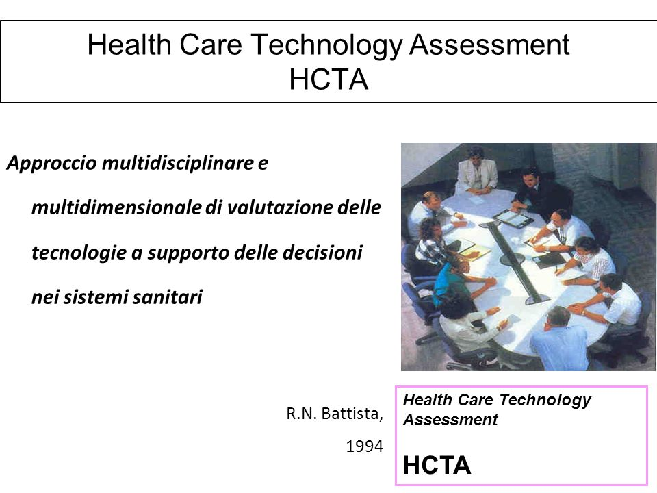 Health Care Technology Assessment HCTA