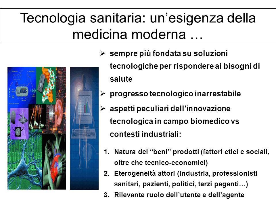 Tecnologia sanitaria: un'esigenza della medicina moderna …