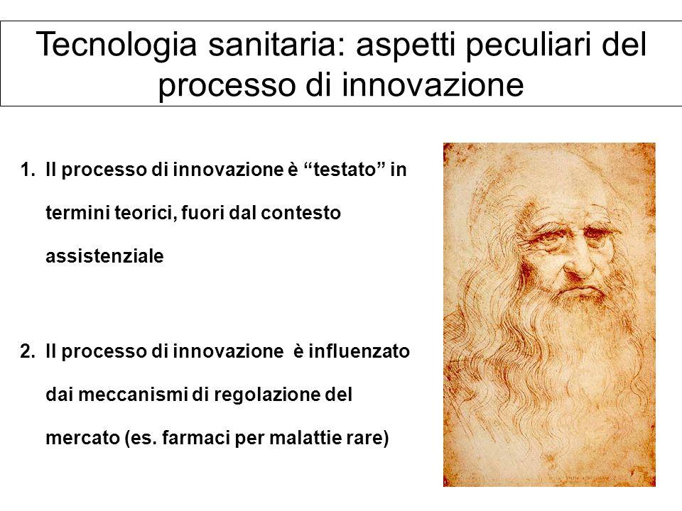 Tecnologia sanitaria: aspetti peculiari del processo di innovazione