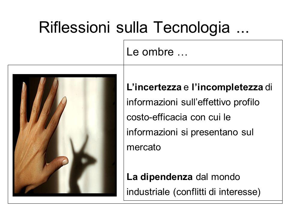 Riflessioni sulla Tecnologia ...