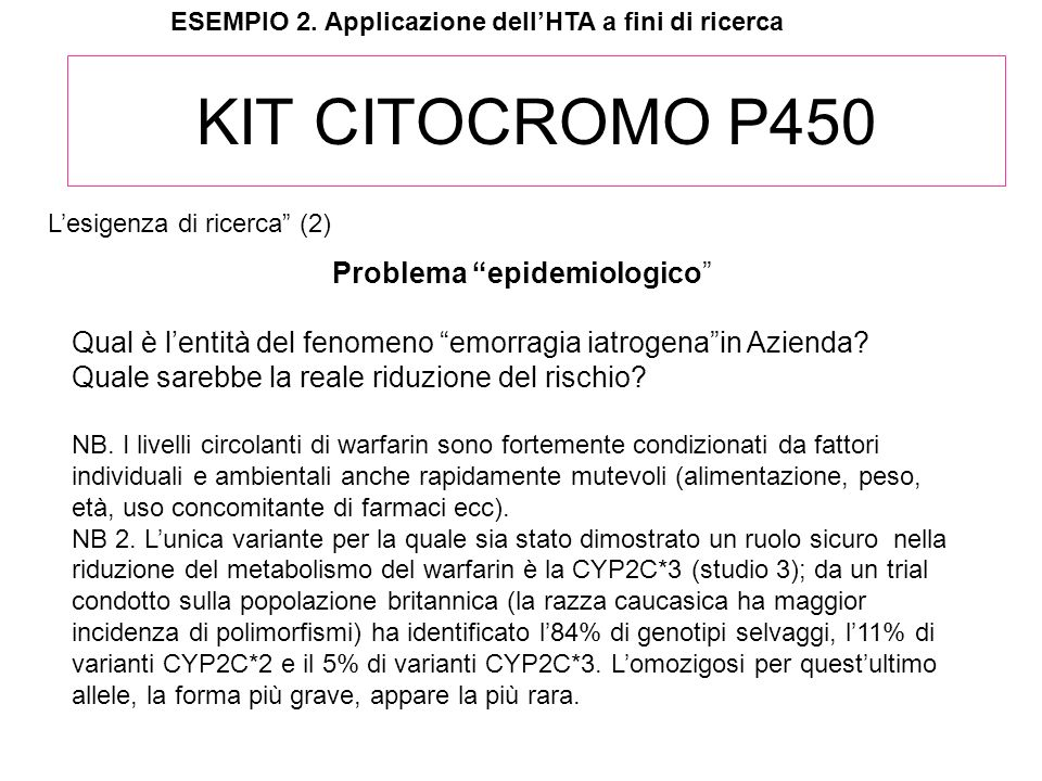 Problema epidemiologico