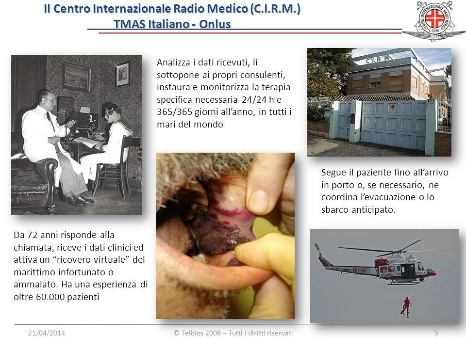 Il Centro Internazionale Radio Medico (C.I.R.M.)