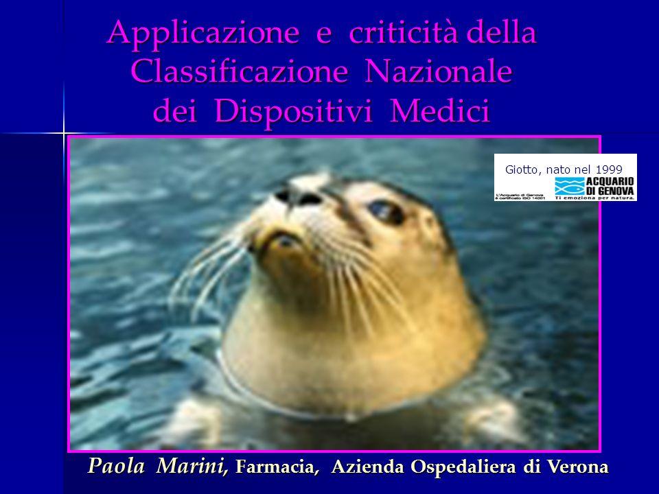 Paola Marini, Farmacia, Azienda Ospedaliera di Verona