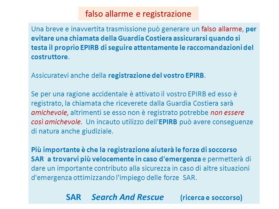 falso allarme e registrazione