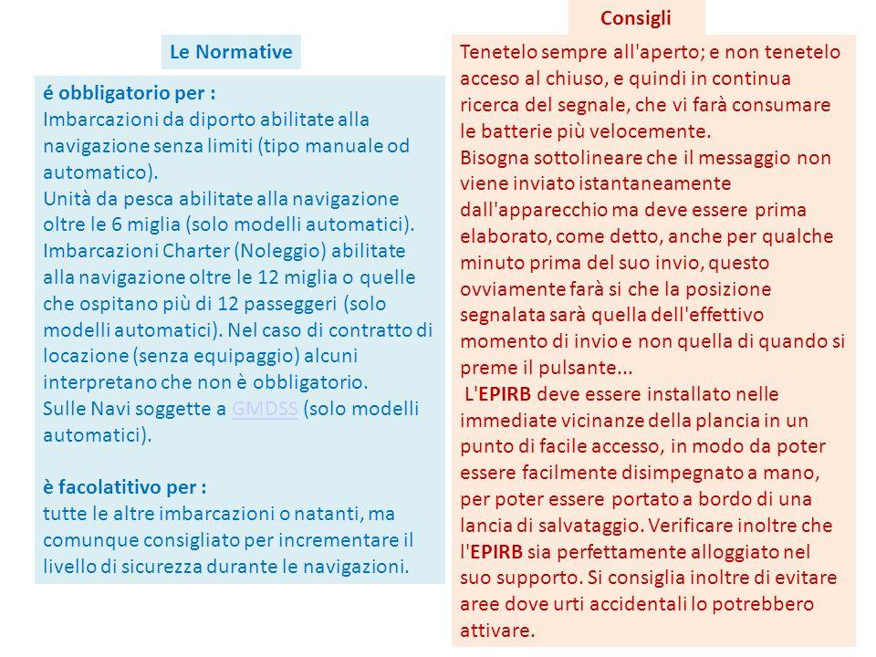Consigli Le Normative.