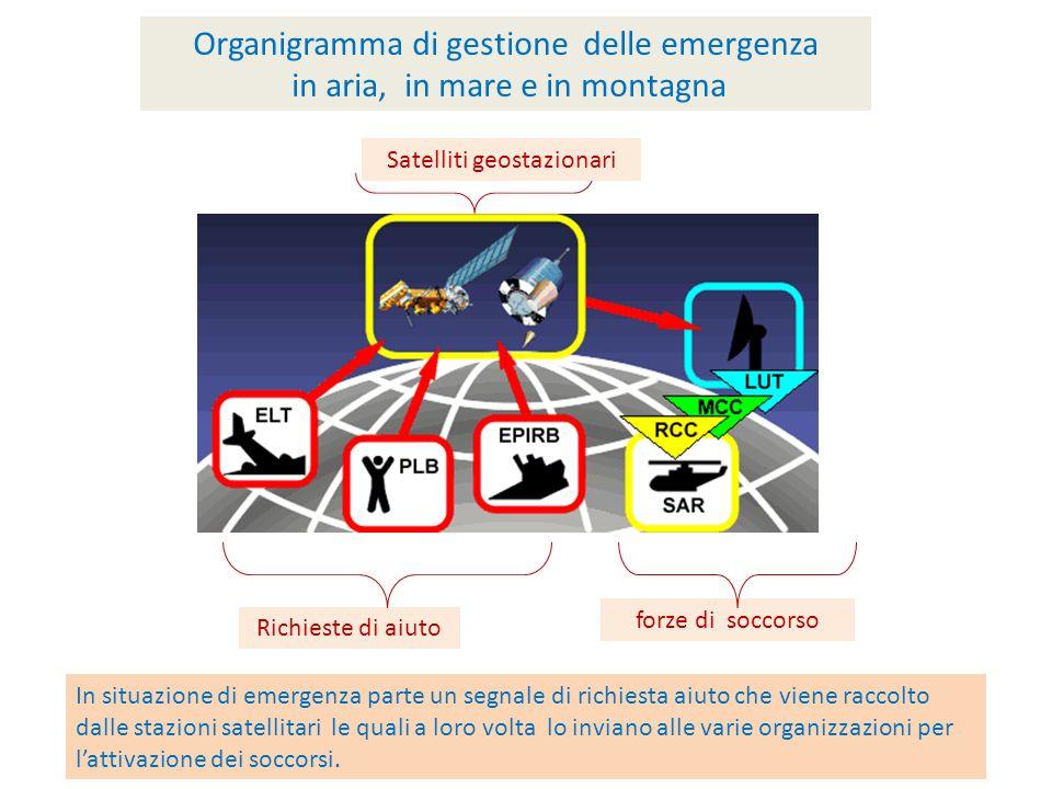 Organigramma di gestione delle emergenza