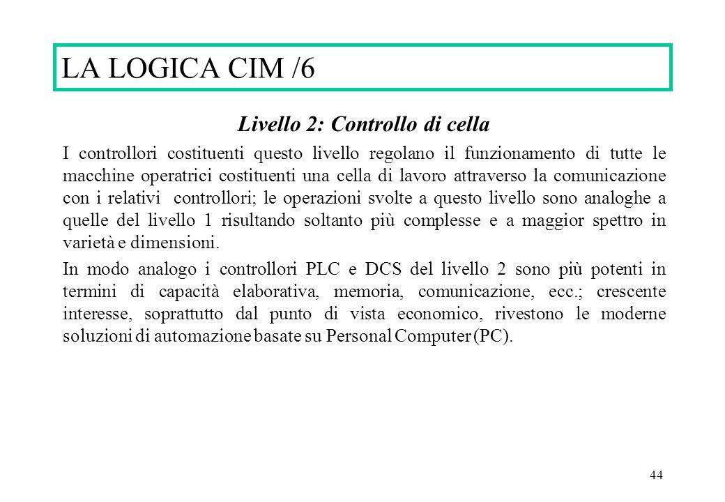 Livello 2: Controllo di cella