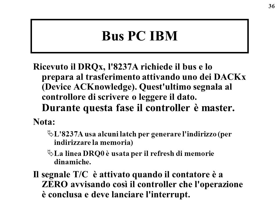 Bus PC IBM