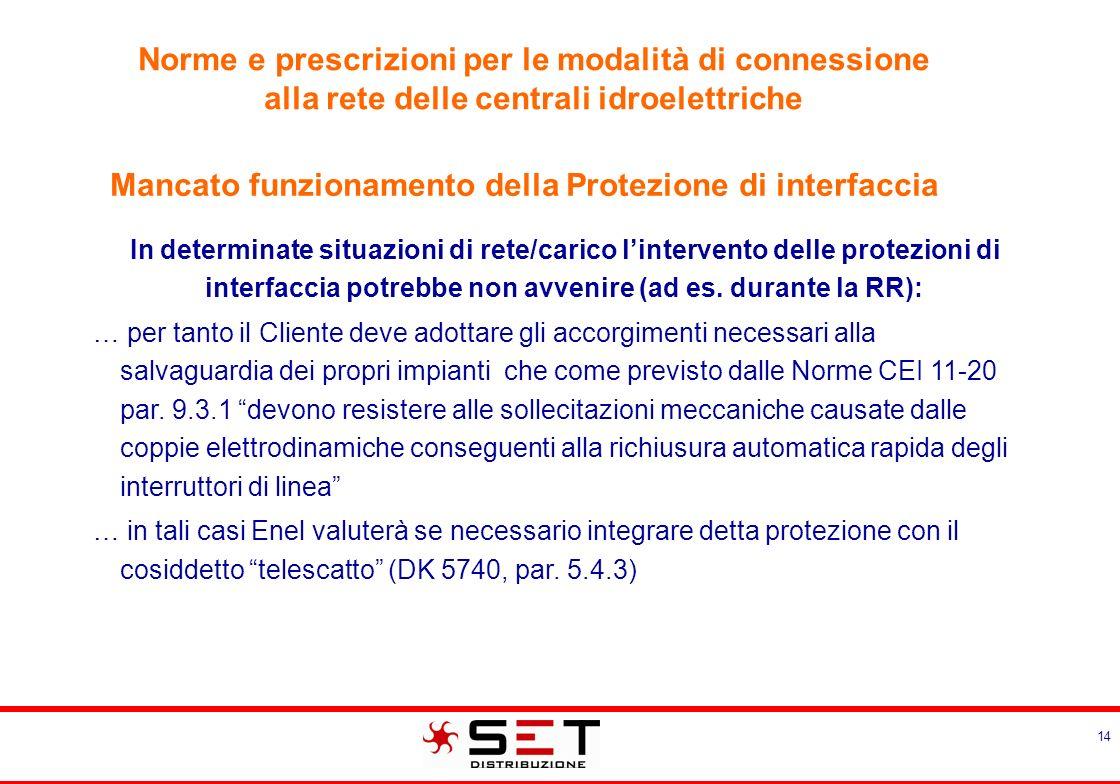Delibera AEEG 281/05 MODALITA' PER L'EROGAZIONE DEL SERVIZIO DI CONNESSIONE ALLE RETI ELETTRICHE.